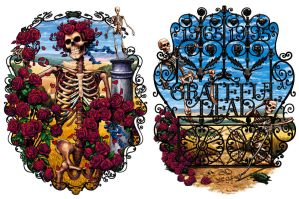 Grateful Dead 30th Anniversary by Patmaniac