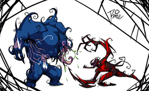 Venom and Carnage by MrRizeAG