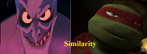 Similarity: Hades and Raph by NinjaTurtleFangirl