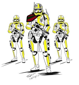 First Order 51st Stormtrooper armor by Mech-Master