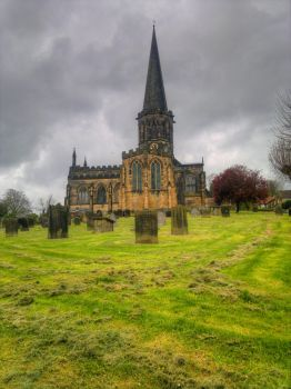 Bakewell Church by JWalkerimages