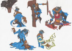 SOUL REAVER_2012doodles_01 by AlexBaxtheDarkSide