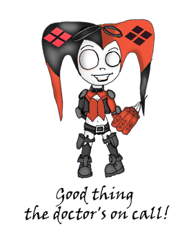 Harley Quinn Injustice 2 Chibi by Little-Horrorz
