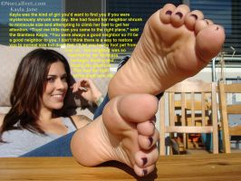 Kind Giantess Neighbor's Feet by youranus32