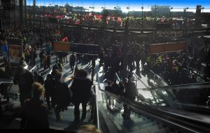 Stop TTIP Demo - Berlin Central Station by MichiLauke
