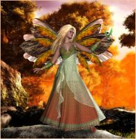 Autumn Fairy by CaperGirl42