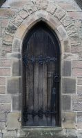 Gothic Door by NickiStock