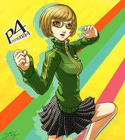 Chie Satonaka - Persona 4 by slash000