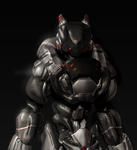 Garuda ExoSuit Render by UltimaZeroah