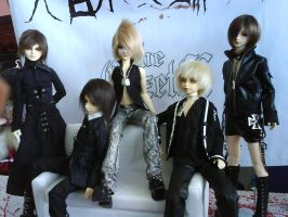 The GazettE Dolls by Lenato