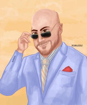 Cesaro by TheChuzzle