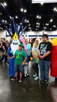 Comicpalooza 2015 - Adventure Time cosplay group by Imperius-Rex