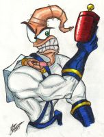 Earthworm Jim by BlueSwords