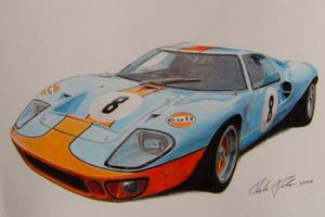Ford GT40 by klem