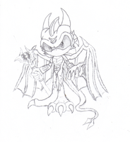 King Zerrone- Final Design Concept sketch by Destro-the-Dragon