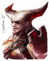 Iron Bull Speed painting by Aiuke