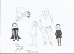 Pugsley and Wednesday Addams - The Addams Family by j-j-joker90