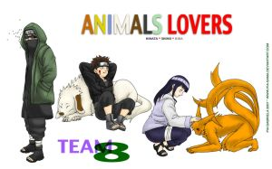 Team 8 - Animal Lovers by Pia-sama