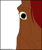 Redbolt in horse version: Shock *Guess* by liongirl2289