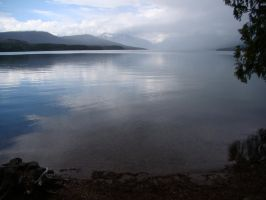 Clearing Storm, Lake McDonald by Geotripper