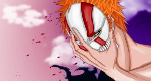 Ichigo's new mask by Salty-art