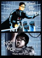 Star Wars parody comic by reloadfreak