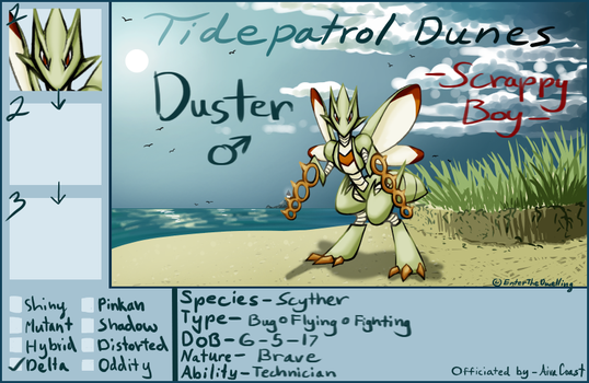 Pocket Island - Duster by EnterTheDwelling