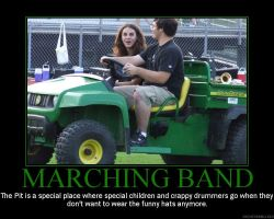 Marching band: The Pit by StuntzTheDude