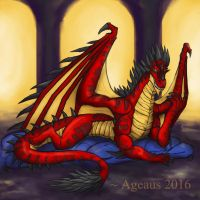 Dragons: Tyrannical Overdean by Ageaus