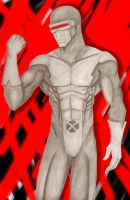 Cyclops the red by LycanLover
