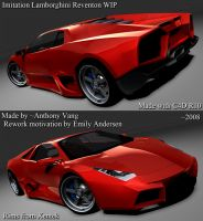 Knockoff Reventon WIP4 by ragingpixels