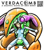 Verdacomb Poster featuring female lead Romee by danomano65
