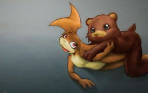 when Pedobear meets Patachu by darkdoomer