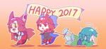 Happy 2017! by Guuchama
