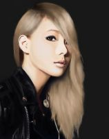 Lee Chae Rin by LimpidlyDoodles97