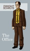 DWIGHT SCHRUTE by CHUBETO