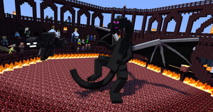 Wither vs. Enderdragon by LockRikard