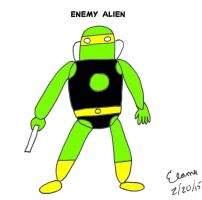 Enemy Alien 2015 by celamowari