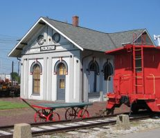 TRAIN DEPOT by uncledave