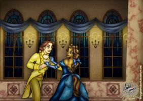 Beauty and her Beast by andreshanti