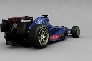Audi F1 Concept rear by motionmedia