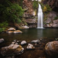 Potem Falls in Summer by nathanspotts