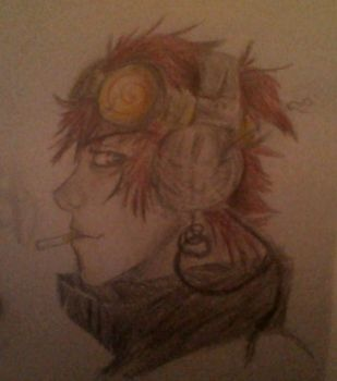 Steam Punk Jack Spicer by ironmanphantom