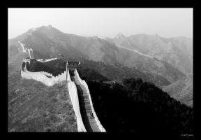 Great Wall of China by mercyop