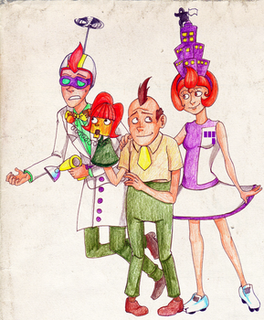 Puppet Family by gabbie