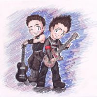 Rammchibi Paul und Reesh by HellenManson