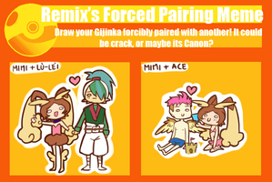 PP :: Forced Pairing Meme by Karmillina