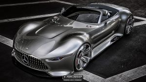 Mercedes-Benz AMG Vision Gran Cabriolet by x-tomi