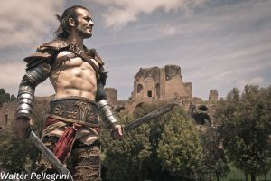Gannicus in Rome - Heart Cosplay by Leon Chiro by LeonChiroCosplayArt