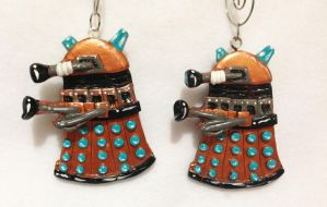 Dalek Necklaces by omfgitsbutter